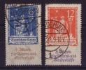 DR Minr.233-234 Gestempelt Geprüft - Deutschland