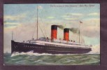 """The New Isle Of Man Steamer """"Ben-My-Chree"""",  Postally Used In 1908  (vg Sq Circle Pmk) - Steamers"""