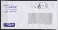 = Flamme Du Centenaire Du Club Alpin Monégasque, Monte-Carlo, Principauté De Monaco 18 7 11 - Poststempel