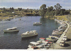 NEW ZEALAND - AK 80491 Taupo Boat Harbour And Outlet Of Lake To Scource Of Waikato River - Nueva Zelanda