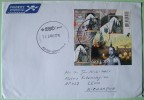 Netherlands 2010 Cover To Nicaragua - History - Whale Label On Back - Sin Clasificación