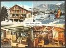 Hotel GRAUE HÖRNER Bei Der Bergstation Furt Luftseilbahn Wangs-Pizol 1982 - SG St. Gall
