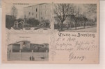 - Alte Ansichtskarte Gruss Aus Bromberg, Kaserne Des Königl. Preussischen Feld-Artillerie Regiments No. 17,  Polen - Polen
