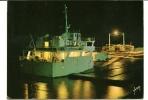 CPSM BAC BATEAU LE VERDON POINTE DE GRAVE Embarcadère De Nuit 1978 - Barcos
