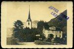 Flüelen, Hotel Restaurant Bahnhof, Gartenwirtschaft Mit Trinkhalle, Ca. 1920 - UR Uri