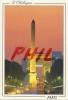 Paris, La Nuit  - La Place De La Concorde - Ref 1107-278/79 - Squares