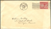 USA FDC 25-1-1932 STAMP UPPER SIDE IMPERFORATED - Winter 1932: Lake Placid