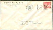 USA FDC 25-1-1932 STAMP IMPERFORATED AT THE RIGHT SIDE - Winter 1932: Lake Placid