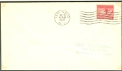 USA FDC 25-1-1932 STAMP LEFT IMPERFORATED - Winter 1932: Lake Placid