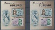 Burundi  1966  BL10/10A President J.F. Kennedy  MNH - Burundi