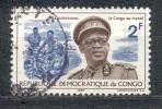 Kongo ( Kinshasa ) 1966 - Michel Nr. 258 O - Dem. Republik Kongo (1964-71)