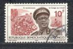 Kongo ( Kinshasa ) 1966 - Michel Nr. 262 O - Dem. Republik Kongo (1964-71)