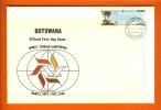 BOTSWANA 1980 Mint FDC Tourisme Conference 257 - Holidays & Tourism