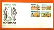BOTSWANA 1971 Mint FDC Agriculture 71-74 - Agriculture