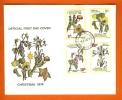 BOTSWANA 1974 Mint FDC Christmas 128-131, F3138 - Christmas