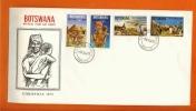 BOTSWANA 1973 Mint FDC Christmas 102-105 - Christmas