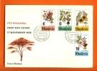 RHODESIA 1976 FDC Tree Flowering 184-187 - Plants