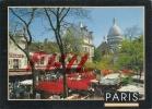 Paris - La Place Du Tertre à Montmartre, Ref 1107-356/57 - Squares