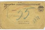 Deutschland Wertbrief M 967, Dusseldorf->Koln Am Rhein, Met  Lacksiegels, Inliegend Mark - Briefe U. Dokumente
