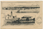 La Ceiba Multi View Post. Used 1910 R. Ugarte Photo - Honduras