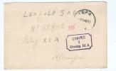 Carte Vers Prisonnier SPA 1.10.1940 - Censure Du Camp Stalag XI A --  B7/697 - Guerre 40-45