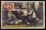 BEYROUTH LIBANON - RARE PHOTOCARD ** LIBAN - GROUPE DE FEMMES AU HAREM ** Vers 1928 ! - Libano
