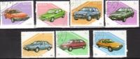 Laos - Volvo-Alfa-Ford-Fiesta-Gr Anada-Citroen-Renault - 7v Set - Coches