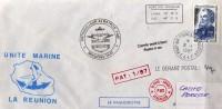 Unité Marine La Réunion (Patrouilleur Albatros), Postée A L´Ile Kerguelen 16 Jan 1987 - Réunion (1852-1975)