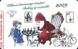 CHESS GOLF BASKETBALL TABLE TENNIS PING PONG BICYCLE BIKE CYCLE SPORT COCA-COLA SOFT DRINK CALENDAR * MMK 219 * Hungary - Hongrie