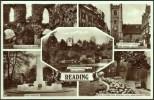 """Reading""  Multi-view,  Real Photos,  Postally Unused,  C1945 - Reading"