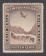 Newfoundland 1931 Air Mail 15c MH  SG192 - 1908-1947