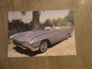 THUNDERBRID 1962  T BRIDE   PHOTO ALBERTO MARTINEZ - Voitures De Tourisme