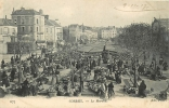 Corbeil : Le Marché. 2 Scans. Edition ND - Corbeil Essonnes