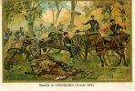 BATAILLE DE SPICHEREN (6 AOUT 1870)...CPA - Historia