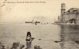 13 / MARSEILLE / SSORTIE DU VIEUX PORT ET FORT ST JEAN / EDIT FG 108 - Old Port, Saint Victor, Le Panier