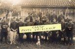 SOMPUIS  CARTE PHOTO MILITAIRE  JAVELLE GABRIEL CAVALIER AU 12EME DRAGON LE 22 6 1913 - France