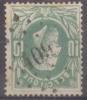 Belgique : 30 Obl. LP 409 YVOIR - 1869-1883 Leopold II