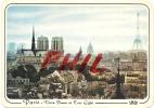 Paris - Panorama Sur Notre-Dame Et La Tour Eiffel, Ref 1108-466 - Notre Dame De Paris