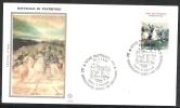1998 ITALIA FDC FILAGRANO GOLD CARABINIERI PASTRENGO - FDC