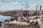 Riviera Di Levante - Portofino Kulm M. 450 S. Mare. Horses, Tourists, Telescopes, ± 1910 - Italy