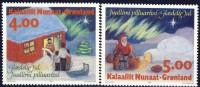 ##Greenland 1994. Christmas. Michel 254-55. MNH(**) - Groenland