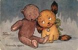 A.G.C. MARSH - Friends Again - Chiot Et Teddy Bear - 2 Scans - Other Illustrators