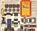 PUBLICITE SHELL - BOLIDES D' AUTREFOIS  BERLIET VICTORIA 1910 - Carton / Lasercut