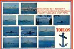 RARE: 83 Toulon Revue Navale Du 11 Juillet 1976 Par M. Le Président De La République Valéry GISCARD D'ESTAING + Cachet - Toulon