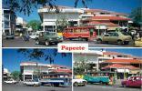 Polynésie Française - Papeete - Carrefour Face à La Cathédrale De Papeete - Polynésie Française