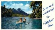 Tahiti - Meilleurs Voeux (pas Une Carte Postale) - Tahiti
