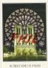 Paris Et Ses Merveilles - Là Façade De La Cathédrale Notre-Dame Et La Rosace Sud, Ref 1108-490 - Notre Dame Von Paris