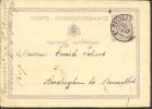 G0425 Belgique Entier De St Nicolas   à Auderghem  1873 - Postwaardestukken