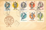 HUNGARY - 1959.FDC - 24th World Fencing Championships, Budapest(!!) - Scherma