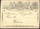 G0447 Belgique Entier De Orchimont  à Gedinne 1872 - Postwaardestukken